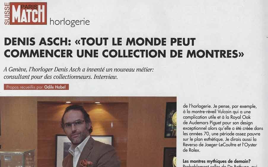 Paris Match – Tout le monde peut débuter une collection